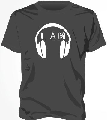 I AM Headphone Mens Black
